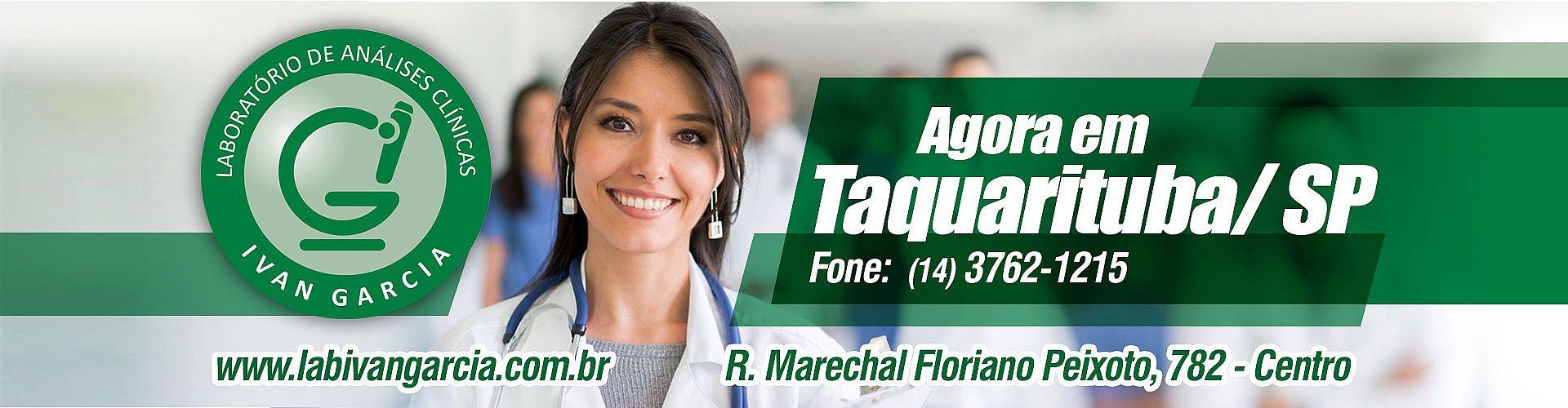 Lab Ivan Garicia agora também em Taquarituba/SP