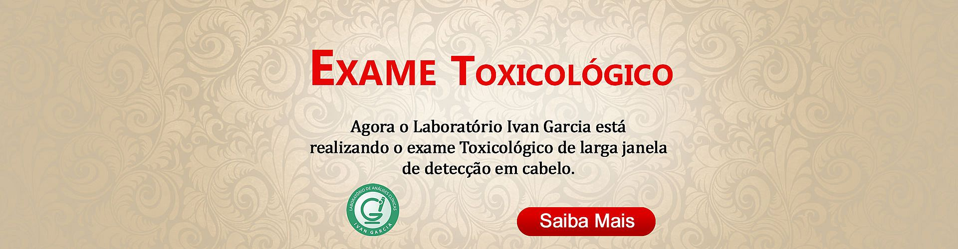 Toxicológico De Larga Janela De Detecção Em Cabelo